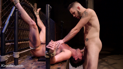 Photo number 22 from Jett Jax & Wolf Hudson: Dirty Cop Caught in a Trap! shot for KinkMen Classics on Kink.com. Featuring Wolf Hudson and Jett Jax in hardcore BDSM & Fetish porn.