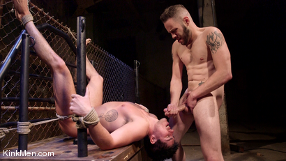 Photo number 23 from Jett Jax & Wolf Hudson: Dirty Cop Caught in a Trap! shot for KinkMen Classics on Kink.com. Featuring Wolf Hudson and Jett Jax in hardcore BDSM & Fetish porn.
