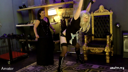 Lady Shiva: Sissy Training (2 of 4)