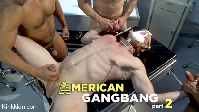 American Gangbang part 2: Pierce Paris Electrified and Fucked RAW