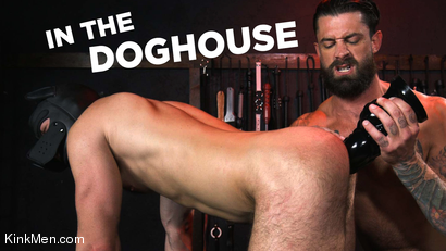 In The Doghouse: Alpha Wolfe Stretches Pup Riley Landon's Hole RAW