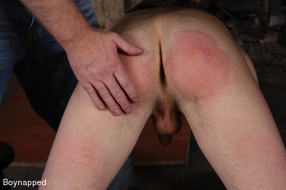 Photo number 4 from Kenzie Gets Spanked By Sebastian  shot for Boynapped on Kink.com. Featuring Kenzie Madison and Sebastian Kain in hardcore BDSM & Fetish porn.