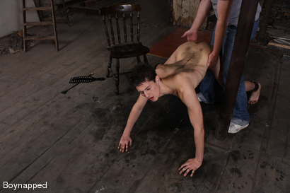 Photo number 5 from Kenzie Gets Spanked By Sebastian  shot for Boynapped on Kink.com. Featuring Kenzie Madison and Sebastian Kain in hardcore BDSM & Fetish porn.