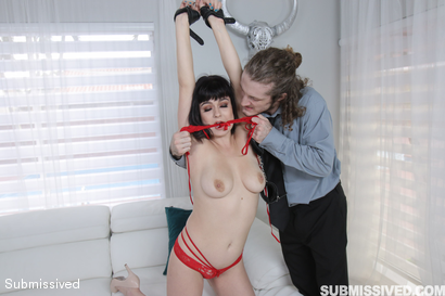 Photo number 8 from Off The Cuff  shot for Submissived on Kink.com. Featuring Nova Cane and Brick Danger in hardcore BDSM & Fetish porn.