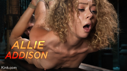 Fresh Meat: Allie Addison Endures Strict Bondage and Torment