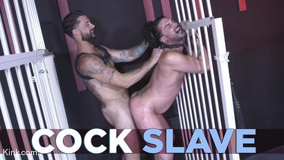 Cock Slave: Alpha Wolfe Devours Kinky Viktor's Ass RAW