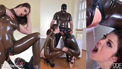 Furniture Polish - Squirting Shiny Fistfucked Table, Part 2