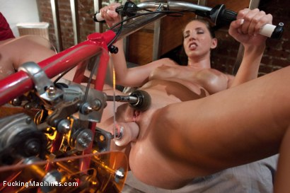 Photo number 4 from Feature Classic Shoot: Planet Anal <br> We Have Arrived shot for Fucking Machines on Kink.com. Featuring Kelly Divine in hardcore BDSM & Fetish porn.