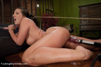 Photo number 13 from Feature Classic Shoot: Planet Anal <br> We Have Arrived shot for Fucking Machines on Kink.com. Featuring Kelly Divine in hardcore BDSM & Fetish porn.