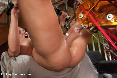 Photo number 6 from Feature Classic Shoot: Planet Anal <br> We Have Arrived shot for Fucking Machines on Kink.com. Featuring Kelly Divine in hardcore BDSM & Fetish porn.
