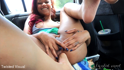 Skin Diamond Gets Her Ass Fucked At The Beach