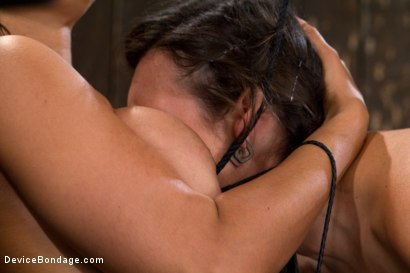 Photo number 12 from Bent Over a Post and Fucked shot for Device Bondage on Kink.com. Featuring Isis Love and Sinn Sage in hardcore BDSM & Fetish porn.