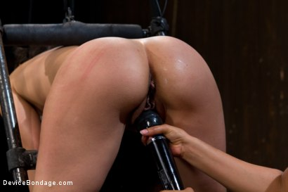 Photo number 14 from Bent Over a Post and Fucked shot for Device Bondage on Kink.com. Featuring Isis Love and Sinn Sage in hardcore BDSM & Fetish porn.