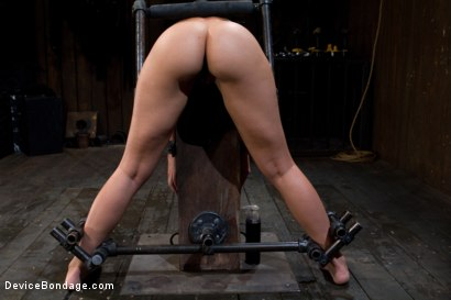 Photo number 4 from Bent Over a Post and Fucked shot for Device Bondage on Kink.com. Featuring Isis Love and Sinn Sage in hardcore BDSM & Fetish porn.