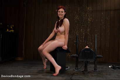 Photo number 15 from Life Lessons With Professor Sybian shot for Device Bondage on Kink.com. Featuring Iona Grace in hardcore BDSM & Fetish porn.