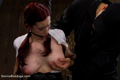 Photo number 7 from Life Lessons With Professor Sybian shot for Device Bondage on Kink.com. Featuring Iona Grace in hardcore BDSM & Fetish porn.