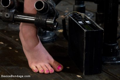 Photo number 8 from Back Bend Boob Punishment shot for Device Bondage on Kink.com. Featuring Iona Grace in hardcore BDSM & Fetish porn.