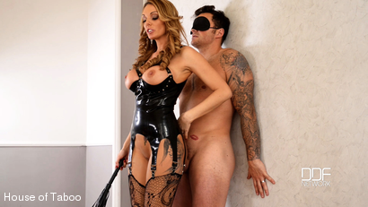 British Dominatrix Uses Stud for Pussy Pleasure Program