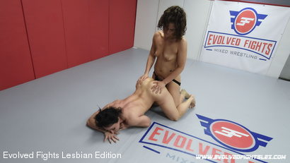 Photo number 77 from Tournament Round 1: Match 1 - Victoria Voxxx vs Brandi Mae shot for Evolved Fights Lesbian Edition on Kink.com. Featuring Victoria Voxxx and Brandi Mae in hardcore BDSM & Fetish porn.