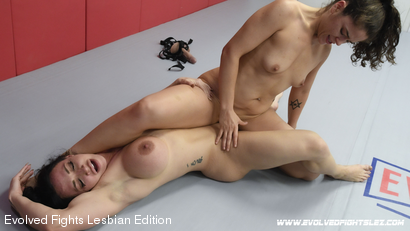 Photo number 80 from Tournament Round 1: Match 1 - Victoria Voxxx vs Brandi Mae shot for Evolved Fights Lesbian Edition on Kink.com. Featuring Victoria Voxxx and Brandi Mae in hardcore BDSM & Fetish porn.