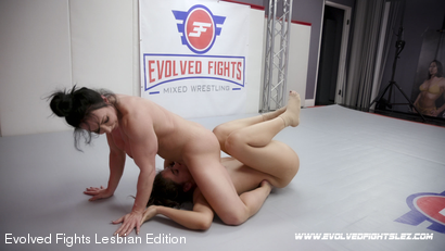 Photo number 86 from Tournament Round 1: Match 1 - Victoria Voxxx vs Brandi Mae shot for Evolved Fights Lesbian Edition on Kink.com. Featuring Victoria Voxxx and Brandi Mae in hardcore BDSM & Fetish porn.