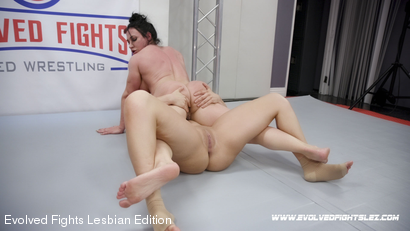 Photo number 88 from Tournament Round 1: Match 1 - Victoria Voxxx vs Brandi Mae shot for Evolved Fights Lesbian Edition on Kink.com. Featuring Victoria Voxxx and Brandi Mae in hardcore BDSM & Fetish porn.