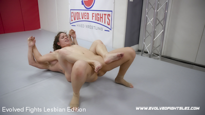Photo number 90 from Tournament Round 1: Match 1 - Victoria Voxxx vs Brandi Mae shot for Evolved Fights Lesbian Edition on Kink.com. Featuring Victoria Voxxx and Brandi Mae in hardcore BDSM & Fetish porn.