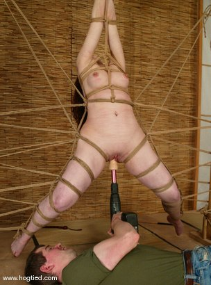 Photo number 9 from Babydoll shot for Hogtied on Kink.com. Featuring Babydoll in hardcore BDSM & Fetish porn.