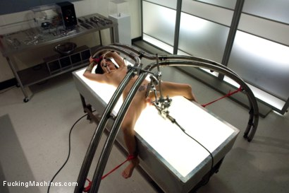 Photo number 3 from Snatching and Machining shot for Fucking Machines on Kink.com. Featuring Tori Lux in hardcore BDSM & Fetish porn.