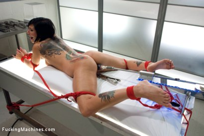 Photo number 9 from Snatching and Machining shot for Fucking Machines on Kink.com. Featuring Tori Lux in hardcore BDSM & Fetish porn.