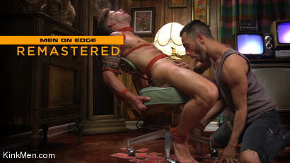 Casey Everett: Two Dudes Repeatedly Work His Cock To The Brink