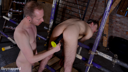 Using His Stretched Out Hole