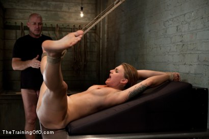 Photo number 9 from The Testing of Payton Bell shot for The Training Of O on Kink.com. Featuring Mark Davis and Payton Bell in hardcore BDSM & Fetish porn.