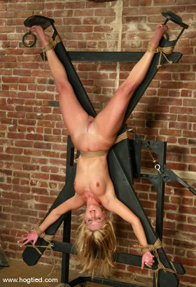 Photo number 4 from Ashley shot for Hogtied on Kink.com. Featuring Ashley in hardcore BDSM & Fetish porn.