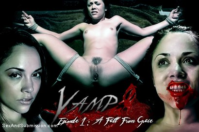 Photo number 1 from Vamp Episode 1: A Fall From Grace shot for Sex And Submission on Kink.com. Featuring James Deen, Kristina Rose, Mark Davis, Jessie Cox and Lorelei Lee in hardcore BDSM & Fetish porn.