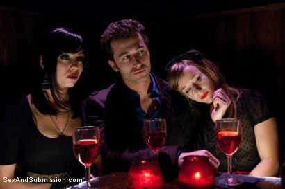 Photo number 3 from Vamp Episode 1: A Fall From Grace shot for Sex And Submission on Kink.com. Featuring James Deen, Kristina Rose, Mark Davis, Jessie Cox and Lorelei Lee in hardcore BDSM & Fetish porn.