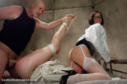 Photo number 8 from Lily's Delusion shot for Sex And Submission on Kink.com. Featuring Mark Davis, Lily LaBeau and Bobbi Starr in hardcore BDSM & Fetish porn.