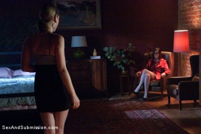Photo number 1 from Lily's Delusion shot for Sex And Submission on Kink.com. Featuring Mark Davis, Lily LaBeau and Bobbi Starr in hardcore BDSM & Fetish porn.