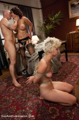 Photo number 14 from Summer Job for a Whore shot for Sex And Submission on Kink.com. Featuring Chloe Camilla, Derrick Pierce and Isis Love in hardcore BDSM & Fetish porn.
