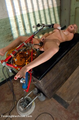 Photo number 12 from 19 year old Underwear Model Tries the Machines shot for Fucking Machines on Kink.com. Featuring Katie in hardcore BDSM & Fetish porn.