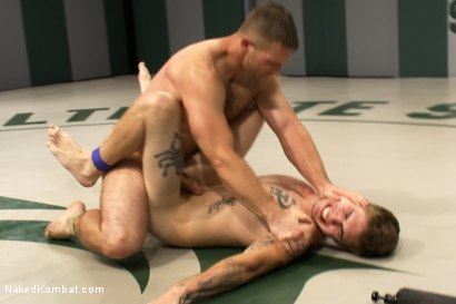 Photo number 11 from Paul Wagner vs Hayden Russo shot for Naked Kombat on Kink.com. Featuring Paul Wagner and Hayden Russo in hardcore BDSM & Fetish porn.
