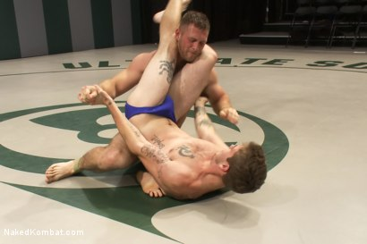 Photo number 1 from Paul Wagner vs Hayden Russo shot for Naked Kombat on Kink.com. Featuring Paul Wagner and Hayden Russo in hardcore BDSM & Fetish porn.