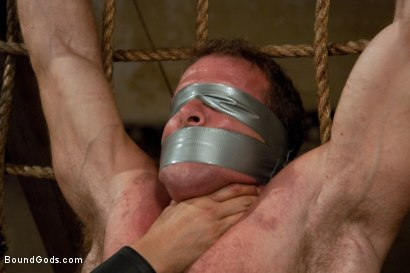 Photo number 13 from Pain Limit - Live Shoot shot for Bound Gods on Kink.com. Featuring Phillip Aubrey, Spencer Reed, Derek Pain and Van Darkholme in hardcore BDSM & Fetish porn.
