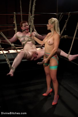 Photo number 12 from Evil Ruined Orgasm: Episode 3 shot for Divine Bitches on Kink.com. Featuring Ashley Fires and Zak Tyler in hardcore BDSM & Fetish porn.