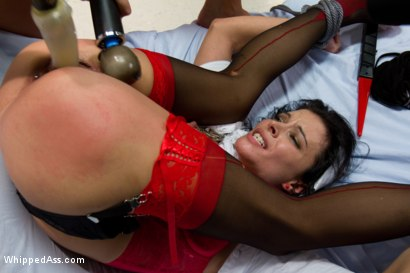 Photo number 4 from Revenge on the Kinky Nurse shot for Whipped Ass on Kink.com. Featuring Nika Noire and Bailey Brooks in hardcore BDSM & Fetish porn.