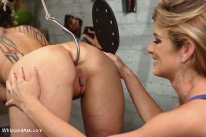 Photo number 6 from Female Owned and Operated shot for Whipped Ass on Kink.com. Featuring Ashley Fires, Dana Vixen and Felony in hardcore BDSM & Fetish porn.