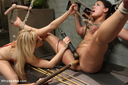 Photo number 11 from Female Owned and Operated shot for Whipped Ass on Kink.com. Featuring Ashley Fires, Dana Vixen and Felony in hardcore BDSM & Fetish porn.