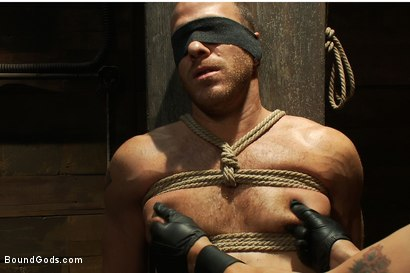 Photo number 4 from Dom in Training - Drew shot for Bound Gods on Kink.com. Featuring Drew Cutler, Van Darkholme and Gianni Luca in hardcore BDSM & Fetish porn.