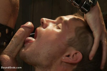Photo number 7 from Wilde Diesel shot for Bound Gods on Kink.com. Featuring Trent Diesel and Christian Wilde in hardcore BDSM & Fetish porn.