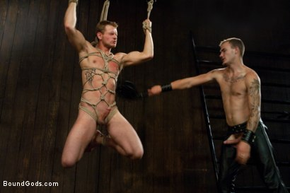 Photo number 6 from Wilde Diesel shot for Bound Gods on Kink.com. Featuring Trent Diesel and Christian Wilde in hardcore BDSM & Fetish porn.